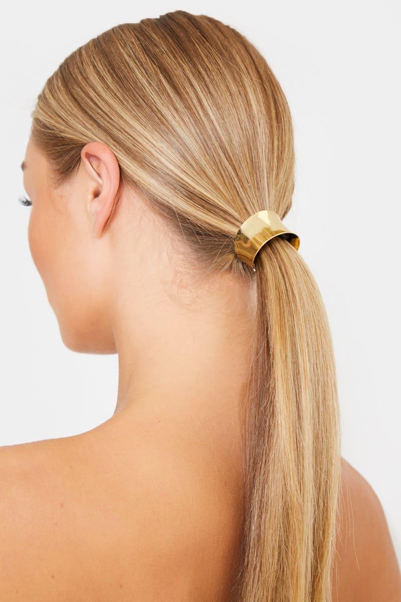 METAL HAIR CUFF HAIR BOBBLE