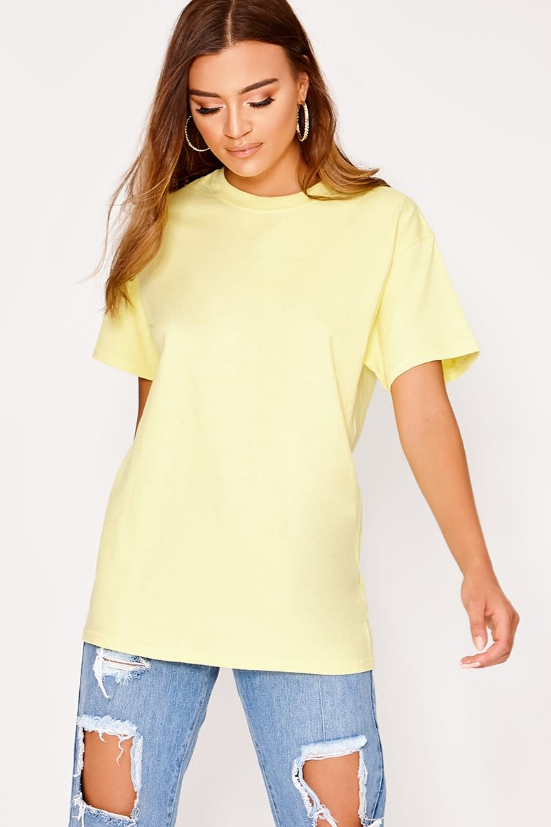BASIC LEMON OVERSIZED T SHIRT