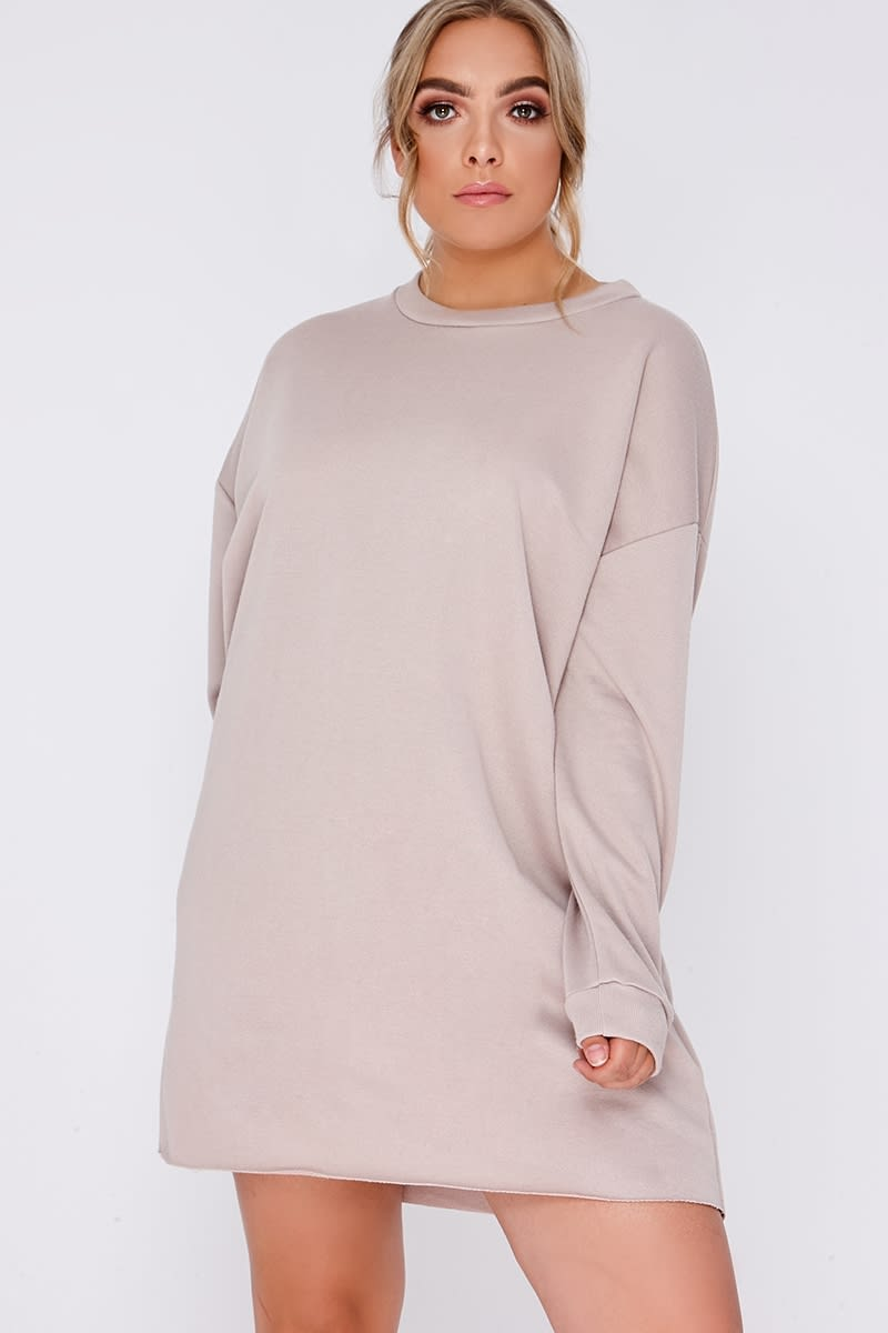 CURVE LOUNA STONE OVERSIZED SWEATER LOUNGEWEAR DRESS