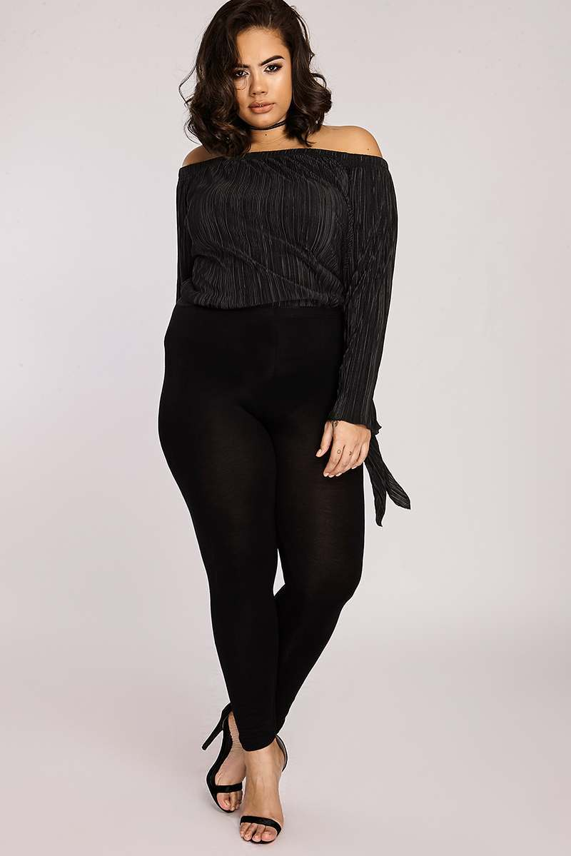 CURVE BAYLEE BLACK LEGGINGS