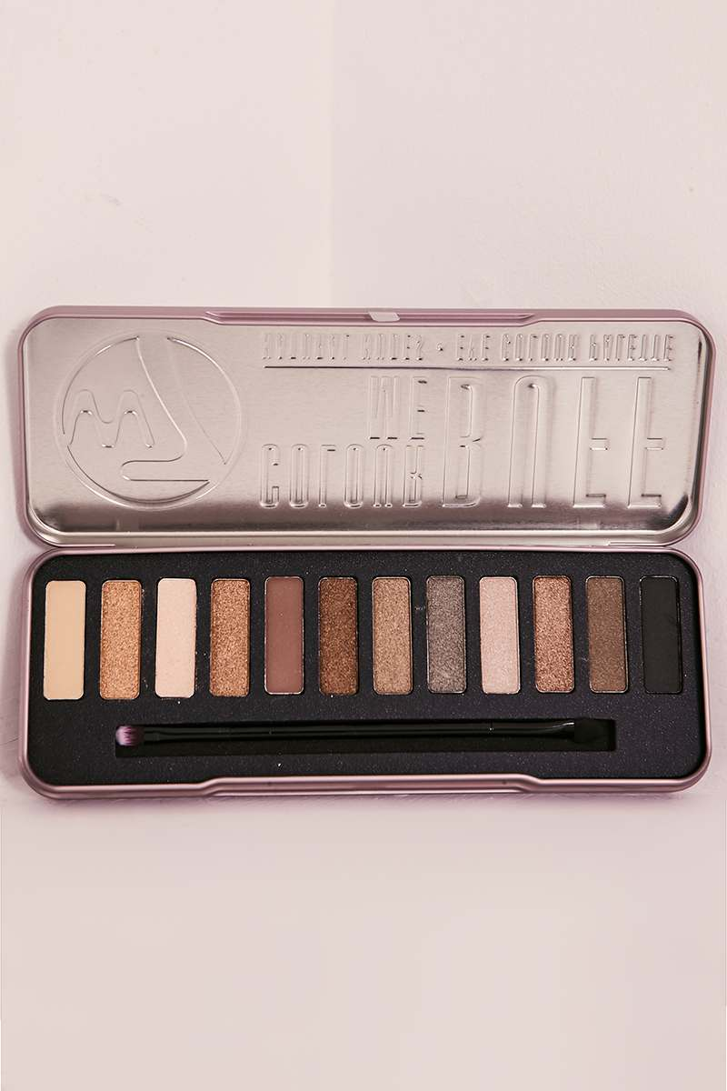 W7 COLOUR ME BUFF NUDE EYE SHADOW PALETTE
