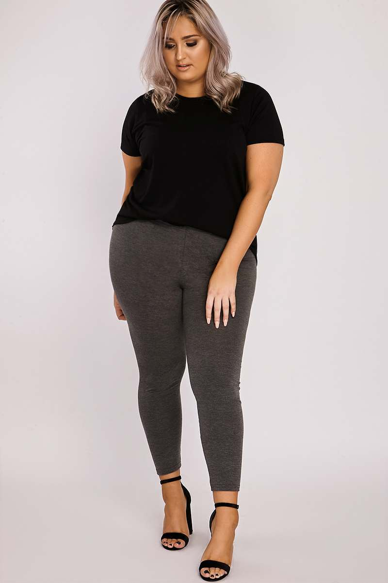 CURVE BAYLEE GREY LEGGINGS