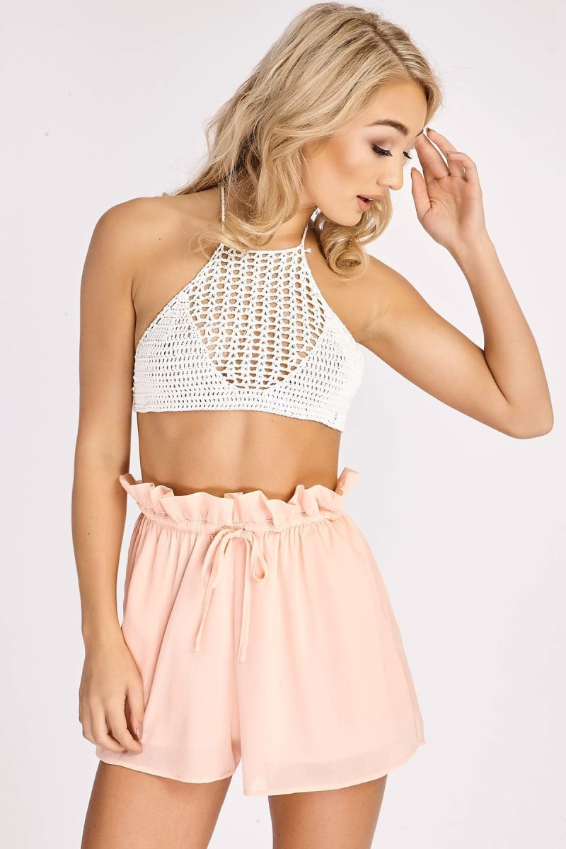 BINKY CORAL CO-ORD SHORTS