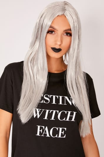 HALLOWEEN GREY WITCHES WIG