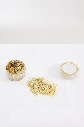 PROSECCO GOLD GLITTER POT