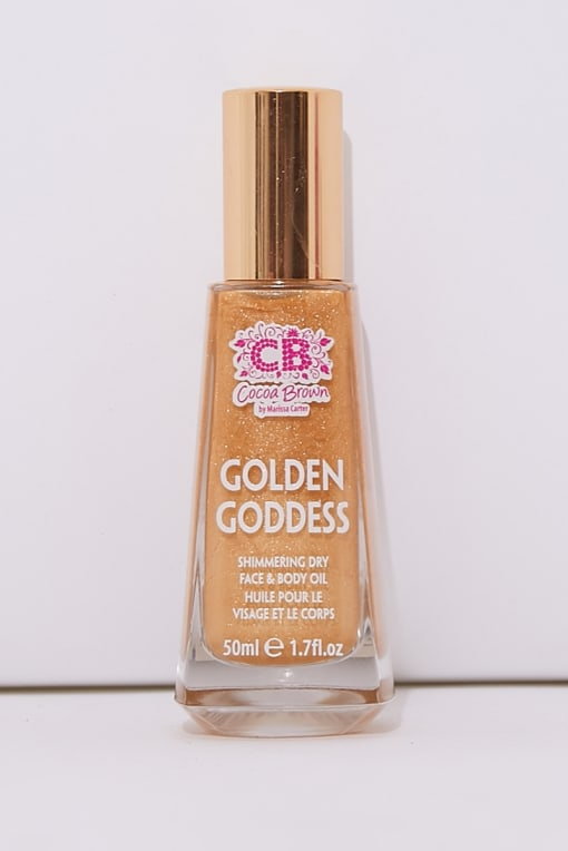 COCOA BROWN GOLDEN GODDESS SHIMMERING DRY BODY OIL