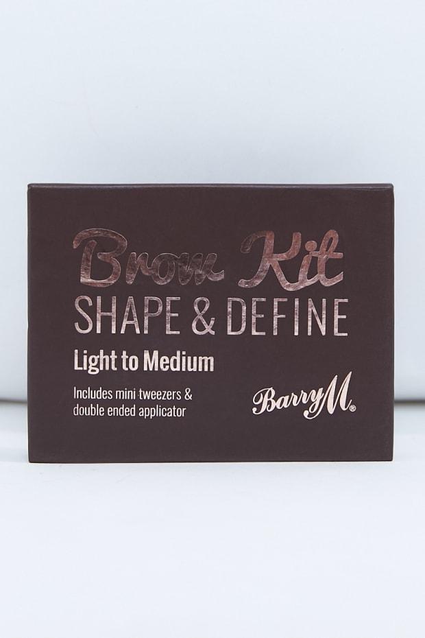 BARRY M LIGHT/MEDIUM BROW KIT