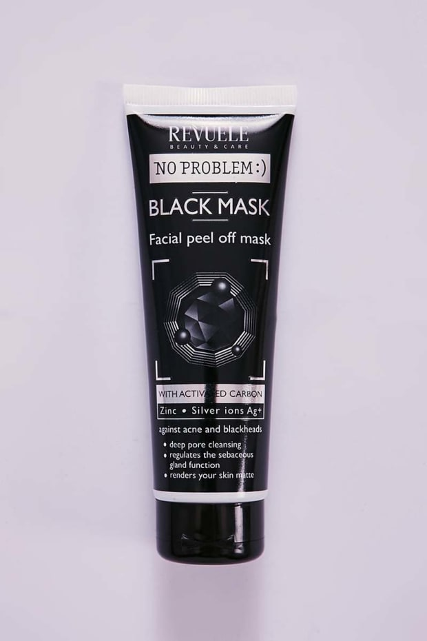 BLACK FACIAL PEEL OFF MASK