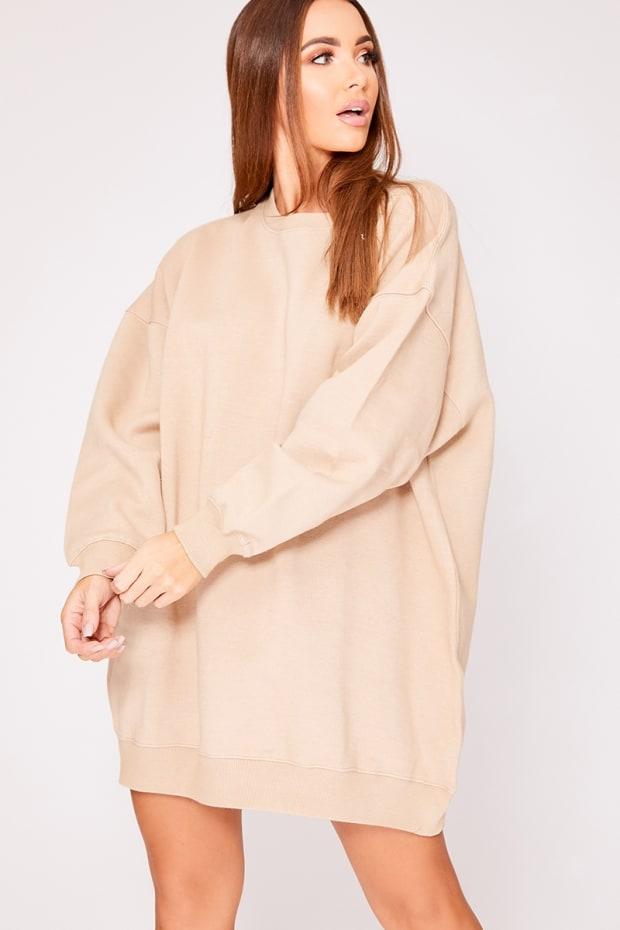 b0e9051e9be Beryan Stone Oversized Sweater Dress