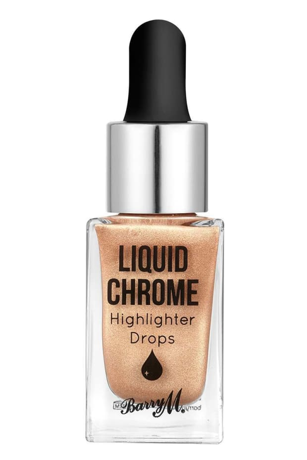 BARRY M LIQUID CHROME HIGHLIGHTER DROPS LIQUID FORTUNE