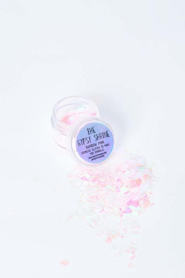 GYPSY SHRINE RAINBOW PINK GLITTER